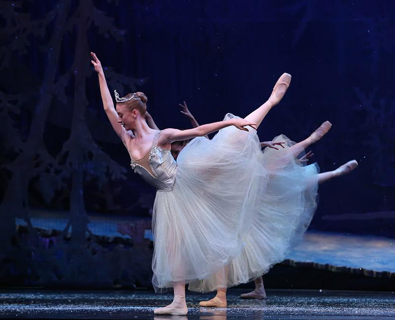 Ballet Dancer in the Mirror