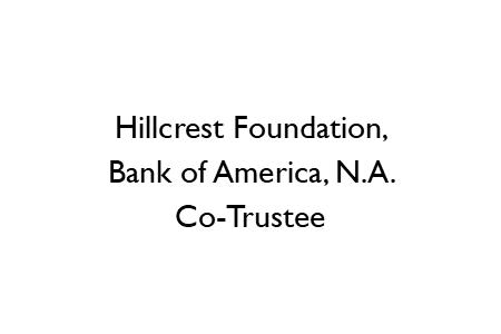 Hillcrest Foundation logo